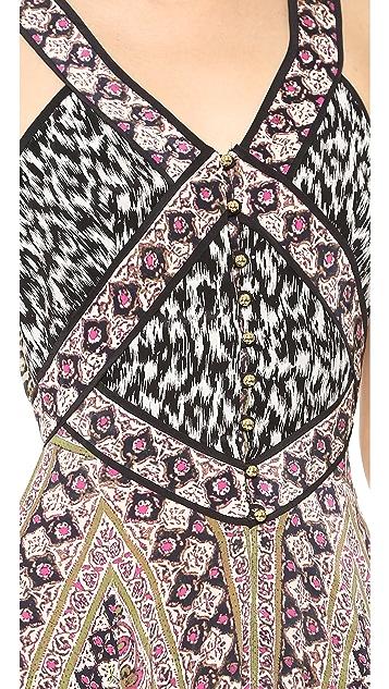 Marchesa Voyage Mix Maxi Dress