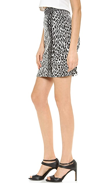 Marchesa Voyage Lace Up Skirt