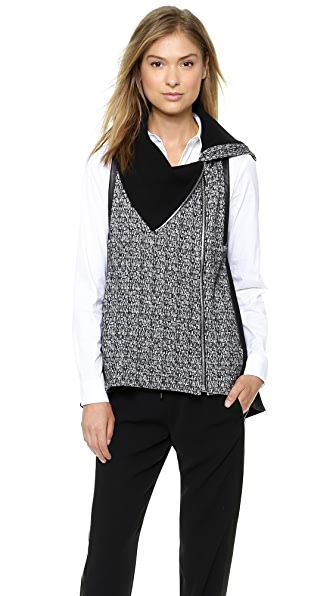 Marissa Webb Jones Funnel Neck Vest