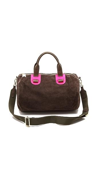 Meredith Wendell Suede Duffel Bag