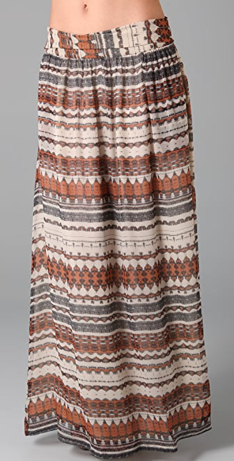 Myne Jazz Long Skirt