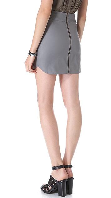 Myne Milo Faux Leather Skirt