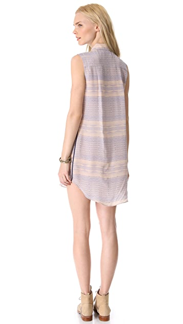 Myne Lane Sleeveless Shirtdress