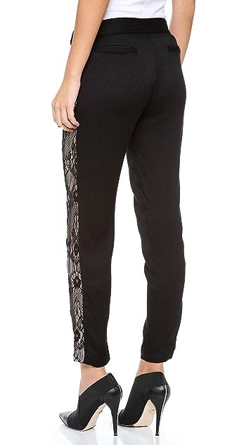Myne Lace Panel Skinny Pants