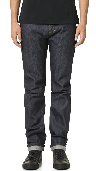 Naked & Famous Weird Guy Left Hand Twill Selvedge Pants