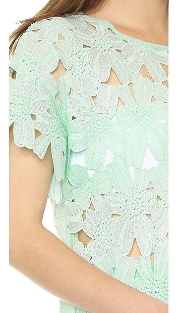 re:named Short Sleeve Flower Tee