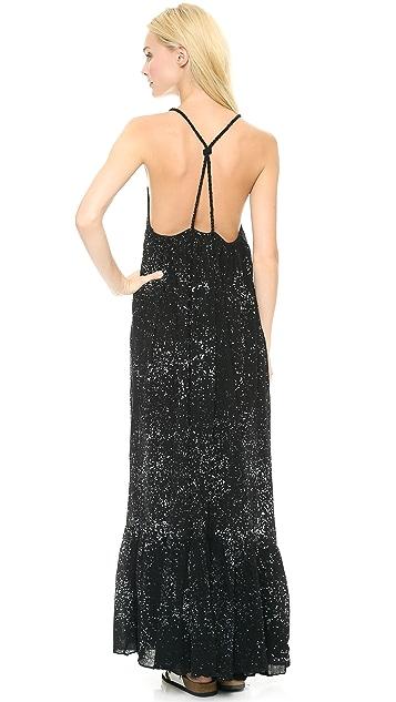 re:named Splatter Maxi Dress