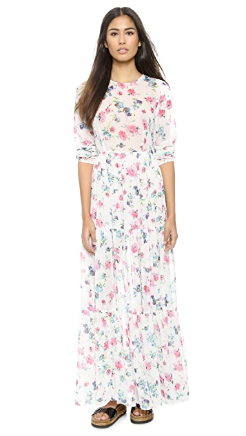 re:named Floral Maxi Dress