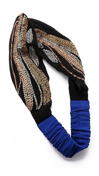 Namrata Joshipura Sequin Adorned Turban Headband