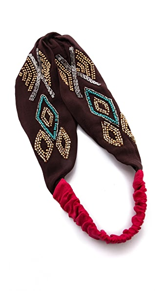 Namrata Joshipura Tribal Patterned Turban Headband