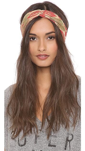Namrata Joshipura Beaded Patterned Turban Headband