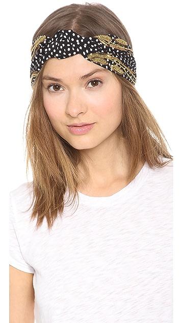 Namrata Joshipura Polka Dot Turban Headband