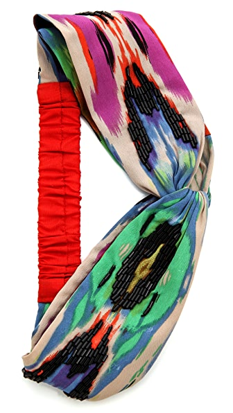 Namrata Joshipura Colorful Turban Headband