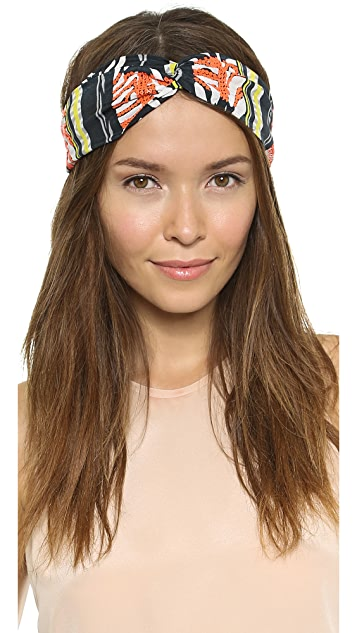 Namrata Joshipura Tropical Turban Headband