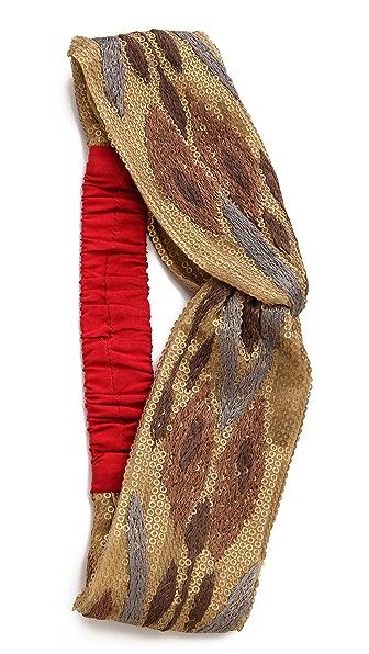 Namrata Joshipura Sequin Turban Headband