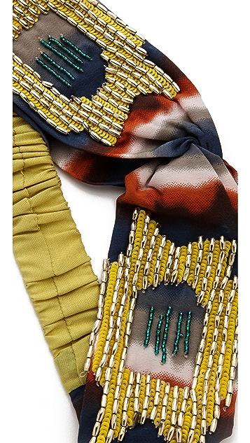 Namrata Joshipura Tie Dye Turban Headband