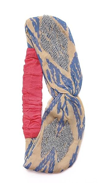 Namrata Joshipura Ikat Turban Headband