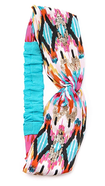 Namrata Joshipura Watercolor Turban Headband