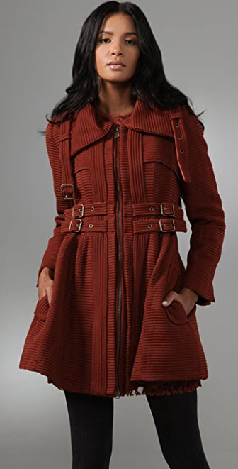 Nanette Lepore Poison Ring Coat