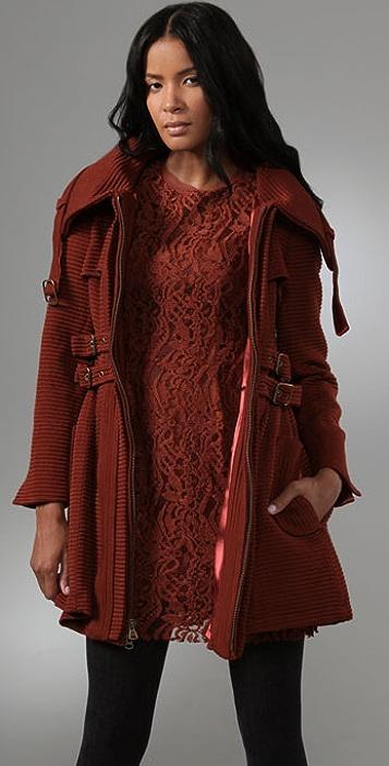 Nanette Lepore Poison Ring Coat