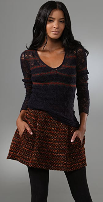 Nanette Lepore Cielo Pullover Sweater