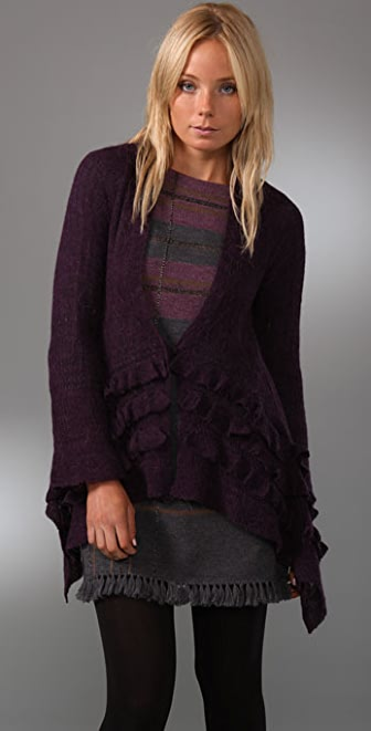 Nanette Lepore Vanishing Cardigan