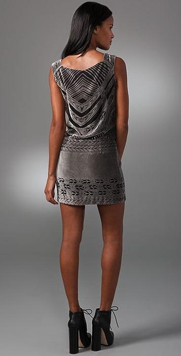 Nanette Lepore Velvet Jewel Dress