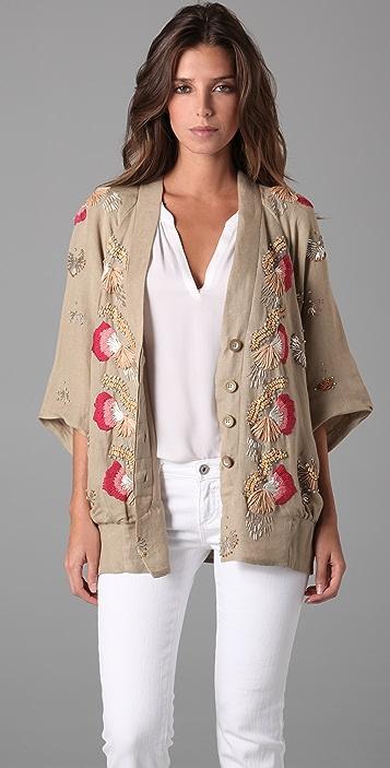 Nanette Lepore Vacationer Beaded Jacket