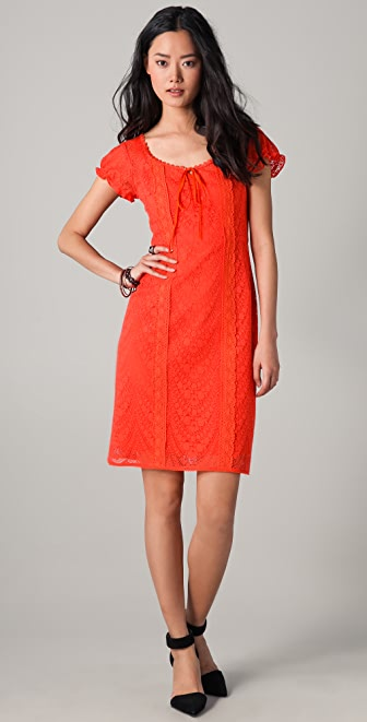 Nanette Lepore Lion Tamer Lace Dress