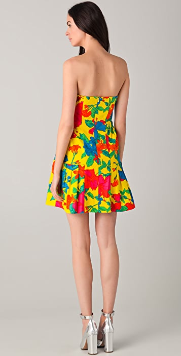 Nanette Lepore Frida's Frock Strapless Dress