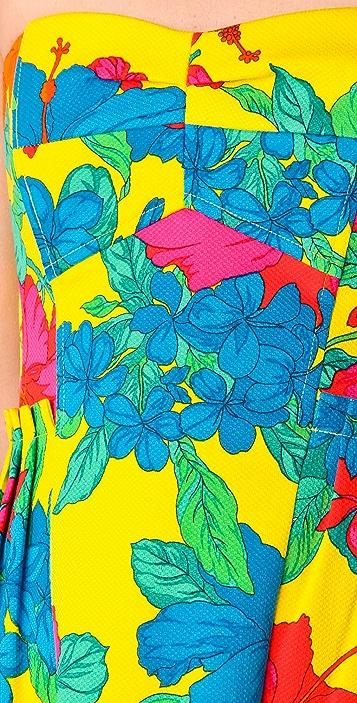 Nanette Lepore Frida's Frock Strapless Dress