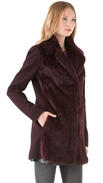 Nanette Lepore Mystical Fur Coat