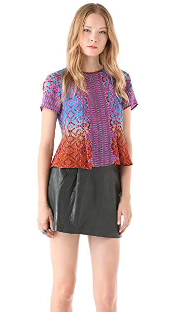 Nanette Lepore Bejeweled Top