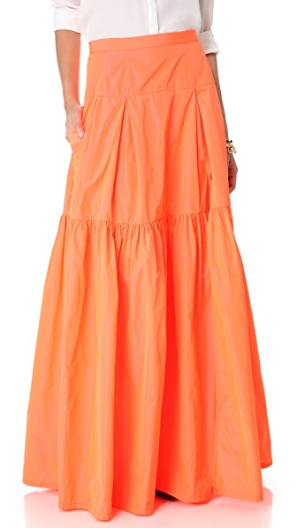 Nanette Lepore Secret Poem Maxi Skirt