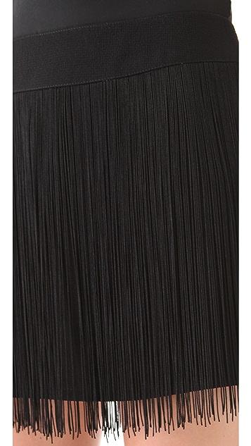 Nanette Lepore Shimmy Skirt