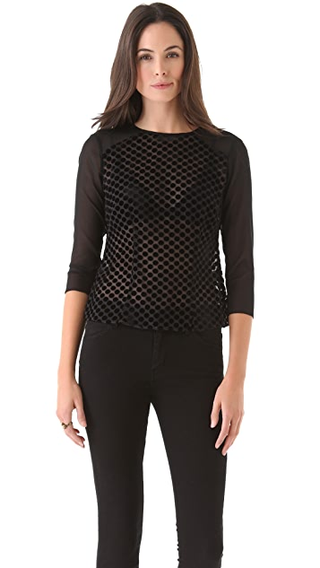 Nanette Lepore Dot Top