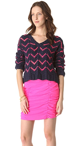 Nanette Lepore Exhibitioner Sweater