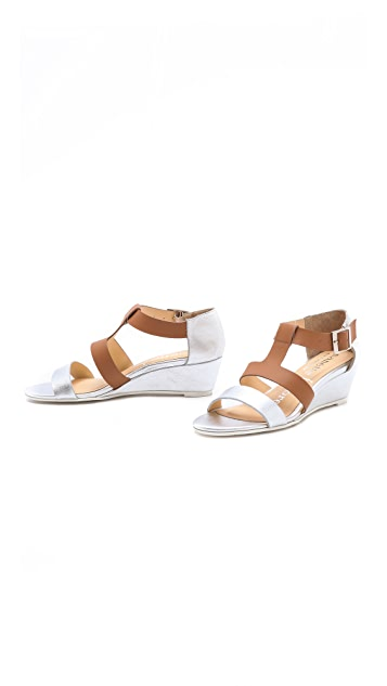 Nanette Lepore Absolute Wonder Wedge Sandals
