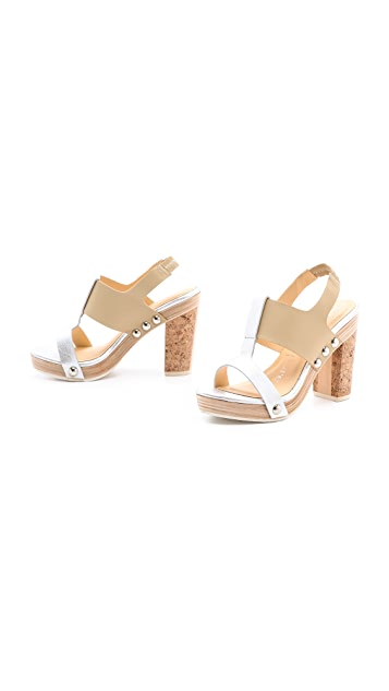 Nanette Lepore Highball Heel Sandals