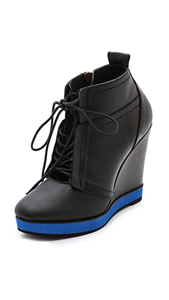 Nanette Lepore Tie Me Up Booties
