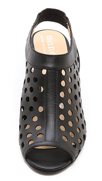 Nanette Lepore Hot Stud Wedge Heels