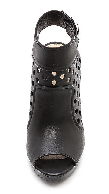 Nanette Lepore Manhunter Perforated Heels