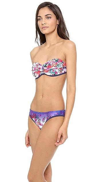 Nanette Lepore Fleur de la Mer Bikini Top