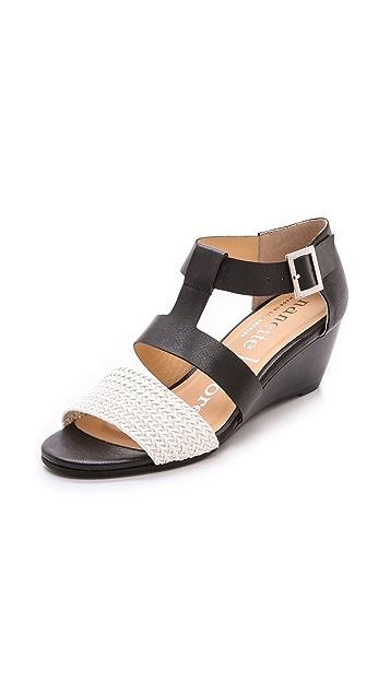Nanette Lepore Absolute Wonder Wedge Sandals