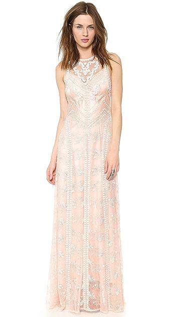 Nanette Lepore Neo Romantic Maxi Dress