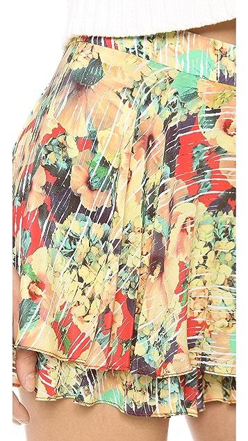 Nanette Lepore Flower Flirty Skort