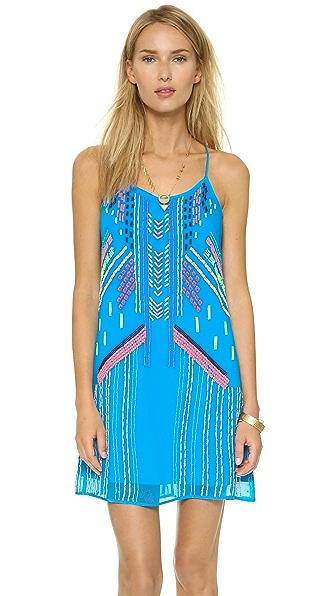 Shop Nanette Lepore online and buy Nanette Lepore Got Rhythm Dress Surf dress online