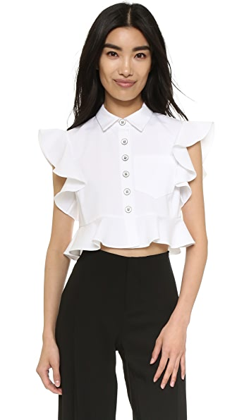 Nanette Lepore Warehouse Blouse - White