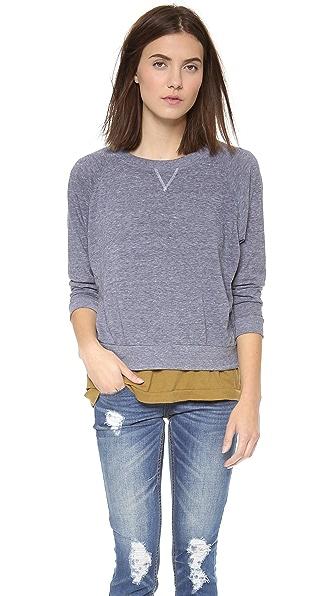 Nation LTD Raglan Sweatshirt