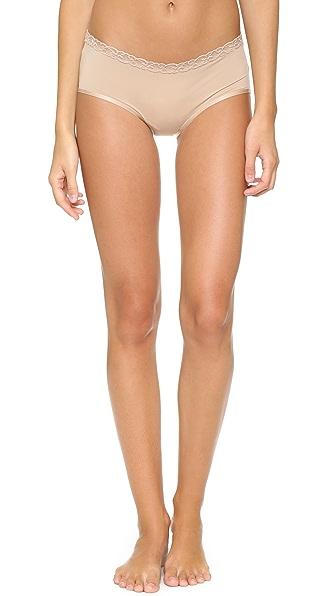 Natori Bliss Girl Shorts - Cafe